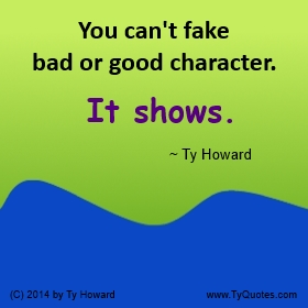 Ty Howard S Character Quotes Tyquotes Com