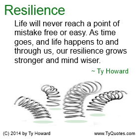 Resilience Quotes Alluring Ty Howard's Resilience Quotes  Tyquotes